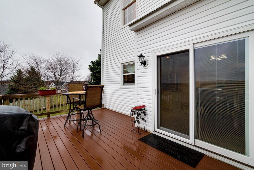 Exterior Rear Deck - 29 HUBBARD CT, STAFFORD