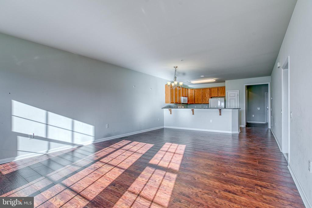 Large and spacious into living room - 220 LONG POINT DR, FREDERICKSBURG