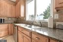 Gorgeous Countertops and Backsplash - 1340 DASHER LN, RESTON