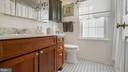 Master Bathroom with upgraded vanity - 13 MEADOWGATE CIR, GAITHERSBURG
