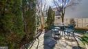 Slate rear patio, perfect for entertaining - 13 MEADOWGATE CIR, GAITHERSBURG