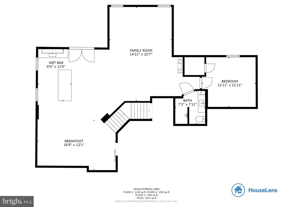 Floorplan Basement - 29 HUBBARD CT, STAFFORD