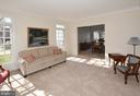 View into dining room - 20269 ROSEDALE CT, ASHBURN