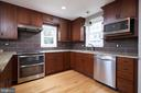 Stainless steel appliances and granite countertops - 11006 HARRIET LN, KENSINGTON