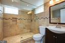 Lower level renovated full bath - 11006 HARRIET LN, KENSINGTON