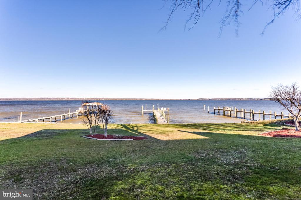 View of the Wicomico River from the back yard - 15798 LANCASTER FARM RD, NEWBURG