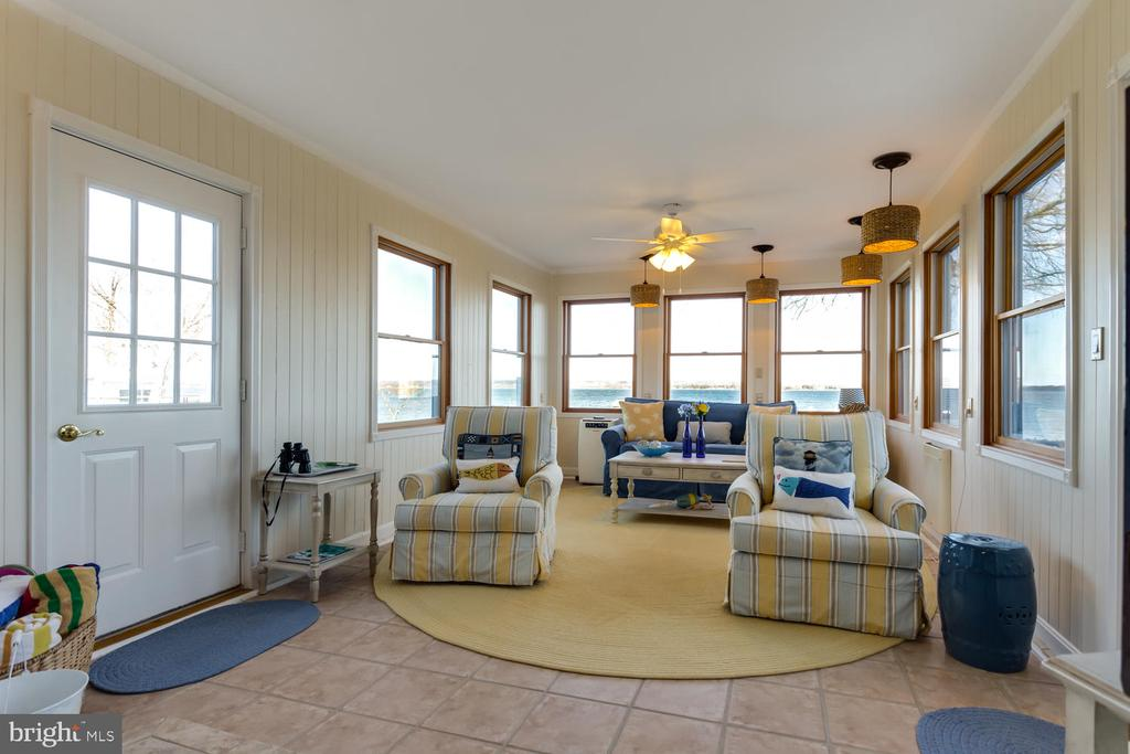 View of Sunroom from Dining Area - 15798 LANCASTER FARM RD, NEWBURG