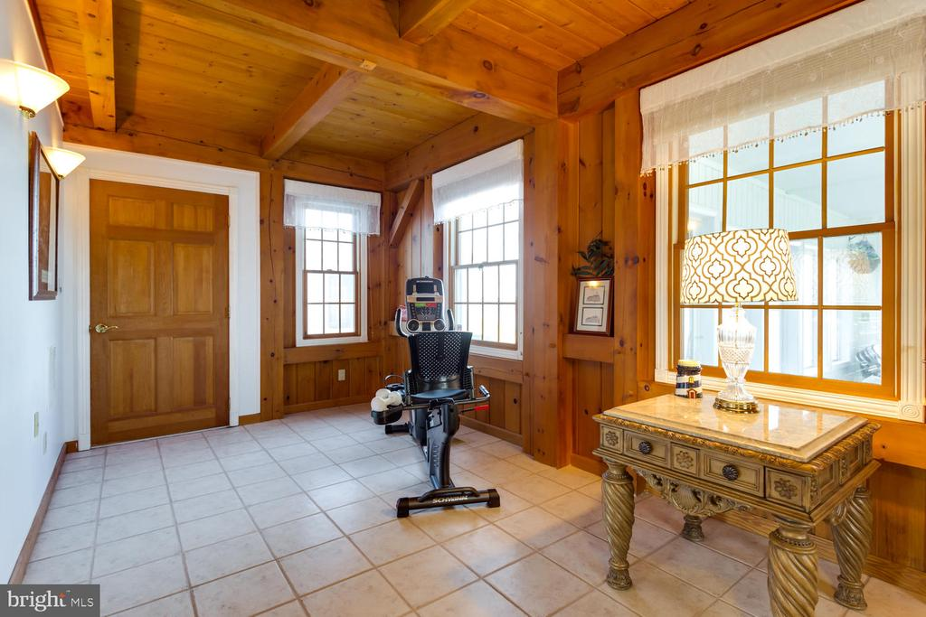 Exercise area or sitting area in Master Bedroom - 15798 LANCASTER FARM RD, NEWBURG