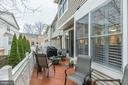 View of the deck - 11485 WATERHAVEN CT, RESTON