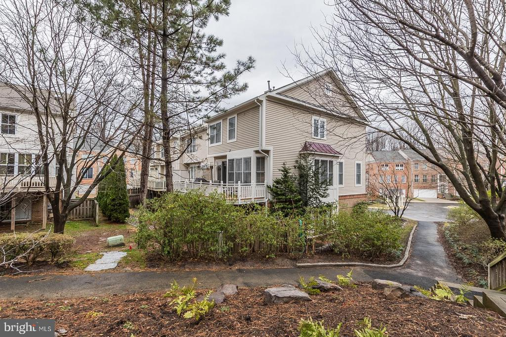 view of the house - 11485 WATERHAVEN CT, RESTON