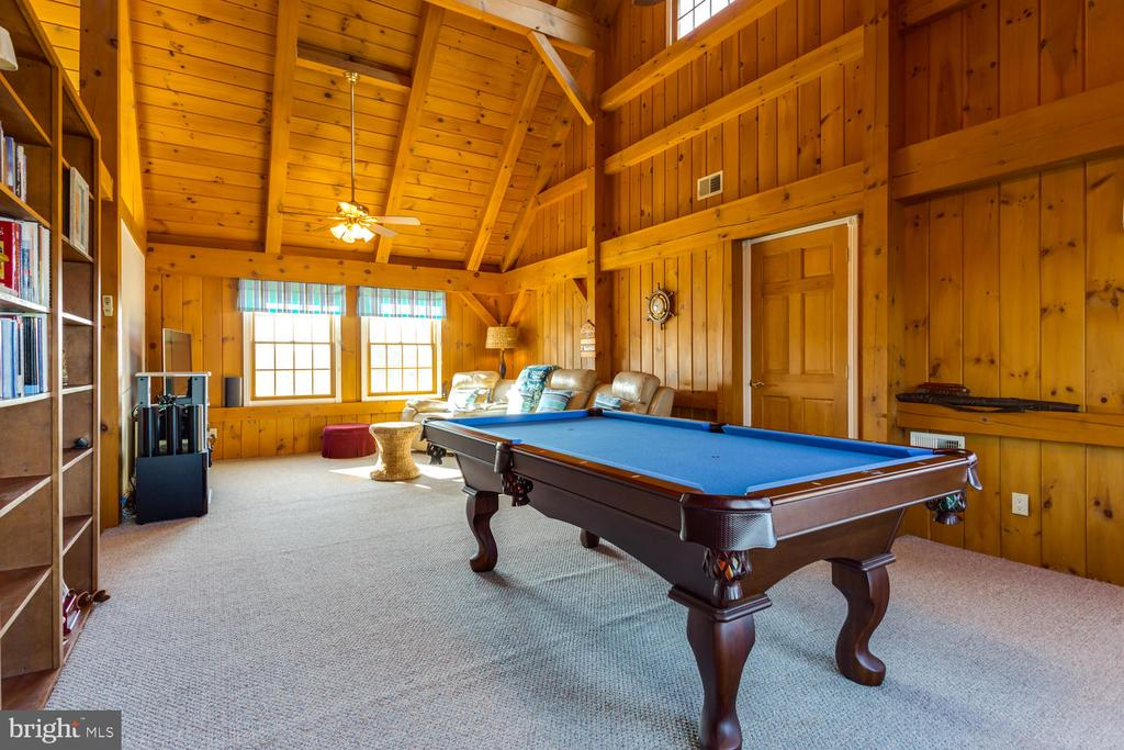 Rec area with water view - 15798 LANCASTER FARM RD, NEWBURG