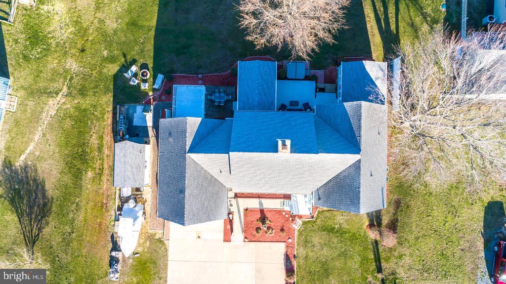 Aerial View - 15798 LANCASTER FARM RD, NEWBURG