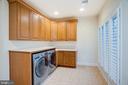 Oversized Second Floor Laundry Room - 9110 DARA LN, GREAT FALLS