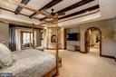 Master Bedroom - 8001 OVERHILL RD, BETHESDA