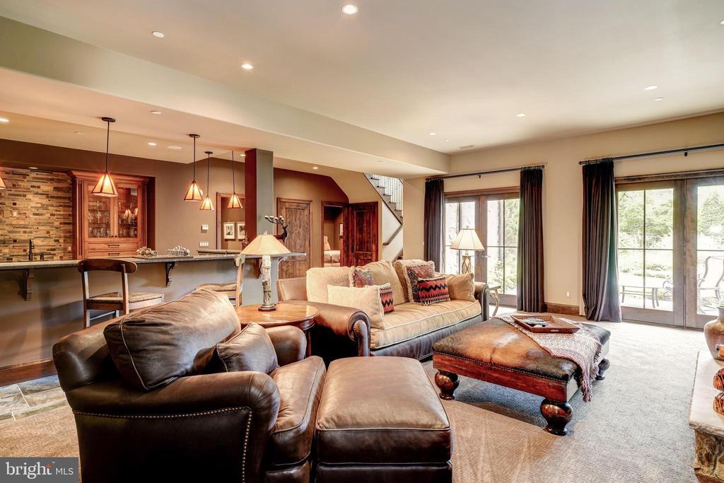 Recreation Room - 8001 OVERHILL RD, BETHESDA
