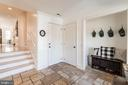 Mudroom w/ Travertine Floor and Covered Side Ent. - 23057 KIRK BRANCH RD, MIDDLEBURG