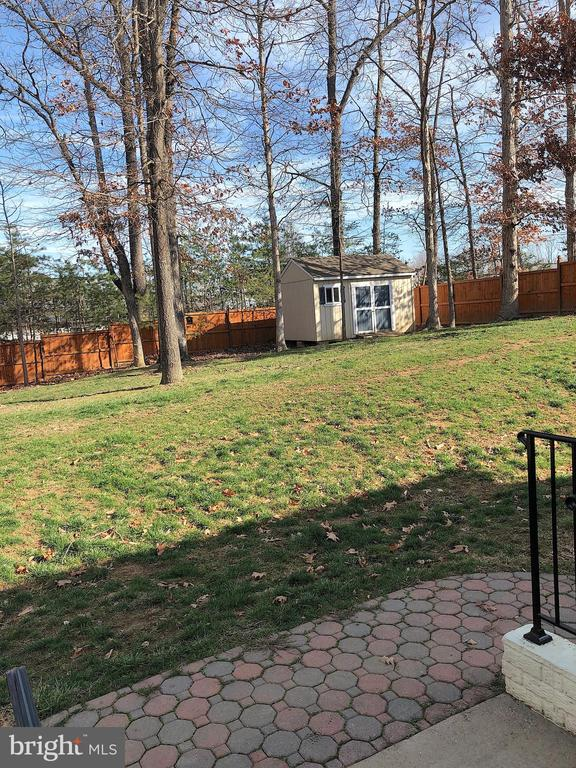 Privacy Fence and Shed in BIG back yard - 6831 BUCK LN, FREDERICKSBURG