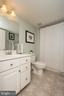 Lower level Full Bath, too - 43168 HASBROUCK LN, LEESBURG