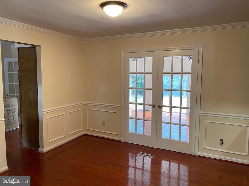 Dining Room - 4335 SHIRLEY GATE RD, FAIRFAX