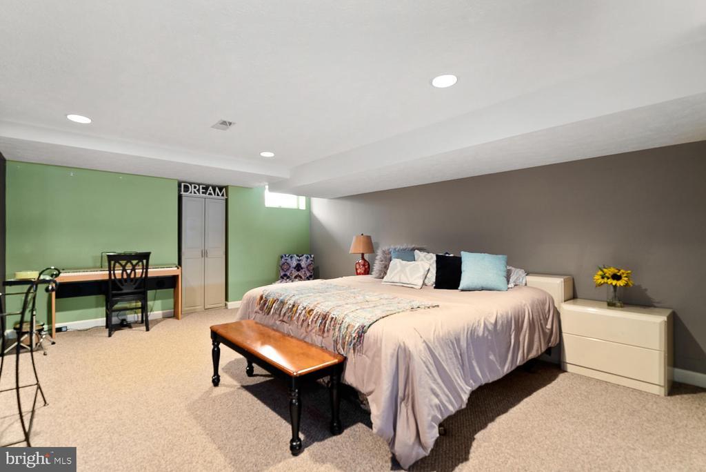 Basement Bonus Room - 17715 GLOBE THEATRE DR, OLNEY