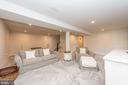 Finished lower level rec room - 9689 AMELIA CT, NEW MARKET
