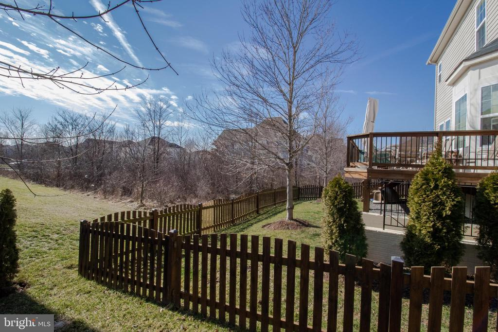 Back and Sides to a Protected Nature Preserve - 42011 ZIRCON DR, ALDIE