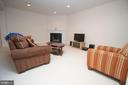 Rec Room with Second Gas Fireplace - 42011 ZIRCON DR, ALDIE