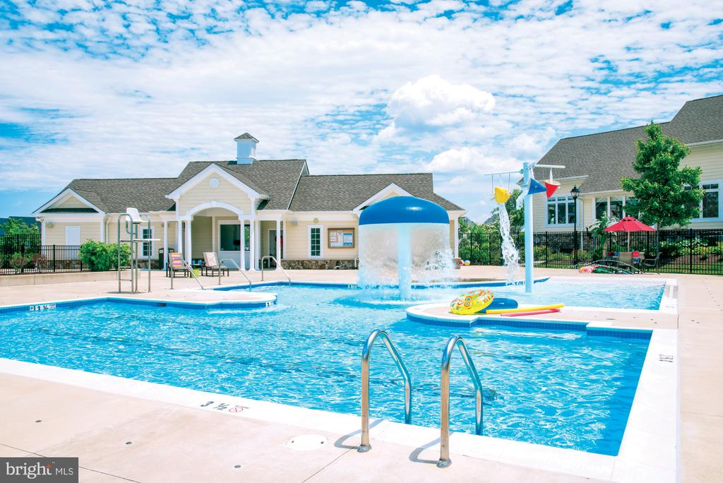 Community Pool & Kids Pool - 23561 HOPEWELL MANOR TER, ASHBURN