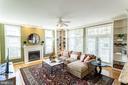 Family Room w/Custom Built-ins - 17716 CRICKET HILL DR, GERMANTOWN