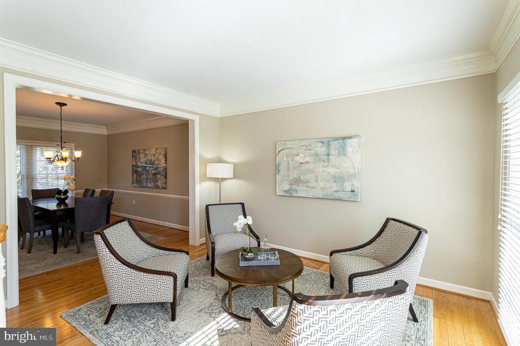 Formal Living Room - 17716 CRICKET HILL DR, GERMANTOWN