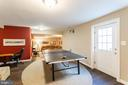 Walk-up Lower Level Game Area - 17716 CRICKET HILL DR, GERMANTOWN