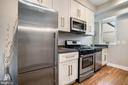 Unit #2 updated kitchen - 1932 15TH ST NW, WASHINGTON