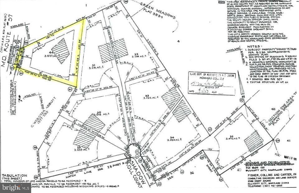 Terrain pour l Vente à Glenwood, Maryland 21738 États-Unis