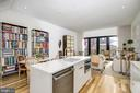 Open Kitchen-Dining-Living - 930 FRENCH ST NW #1, WASHINGTON