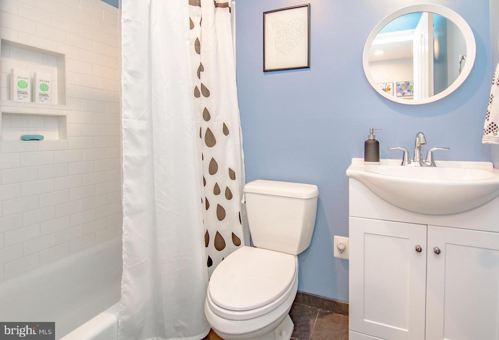 Lower level renovated bathroom. - 6477 EMPTY SONG RD, COLUMBIA