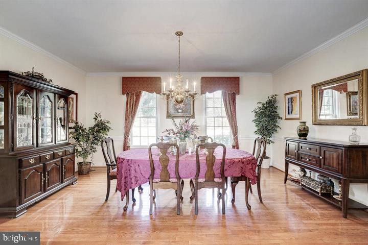 Formal Dining Room - 39520 CHARLES TOWN PIKE, HAMILTON