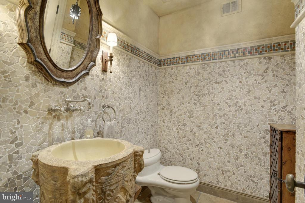 Lower Level Powder Room - 5517 PEMBROKE RD, BETHESDA