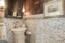 Formal Powder Room - 5517 PEMBROKE RD, BETHESDA