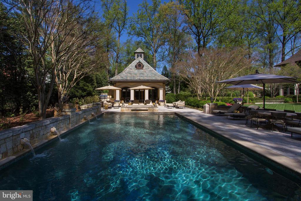 Swimming Pool/Pool House - 5517 PEMBROKE RD, BETHESDA