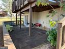 Rubber paver patio. - 6477 EMPTY SONG RD, COLUMBIA