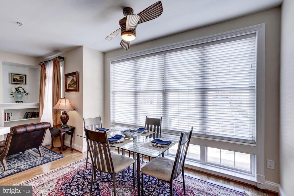 Spacious Breakfast Area w/Wall of WIndows - 12086 KINSLEY PL, RESTON