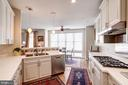Neutral Gourmet Kitchen - 12086 KINSLEY PL, RESTON