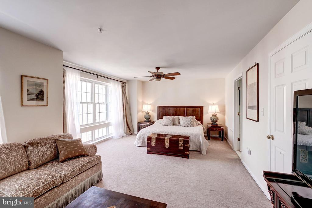 Spacious Master Bedroom - 12086 KINSLEY PL, RESTON