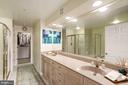 Luxury Master Bath - 12086 KINSLEY PL, RESTON