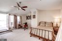 Top Floor Flexible Living! Family Room/4th Bedroom - 12086 KINSLEY PL, RESTON
