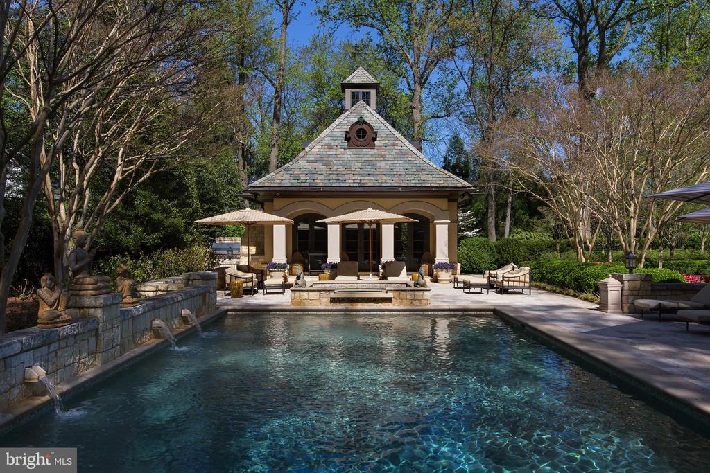 Pool House - 5517 PEMBROKE RD, BETHESDA