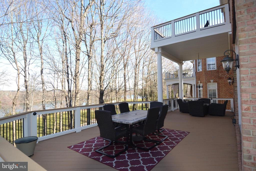 Winter Views from Main Deck - 18192 SHINNIECOCK HILLS PL, LEESBURG