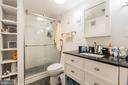 Unit #1 lower level full bathroom - 1932 15TH ST NW, WASHINGTON