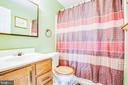 2nd en-suite bathroom on upper level - 6122 PLAINVILLE LN, WOODBRIDGE