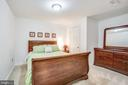 4th bedroom in basement (NTC) with large closet - 6122 PLAINVILLE LN, WOODBRIDGE